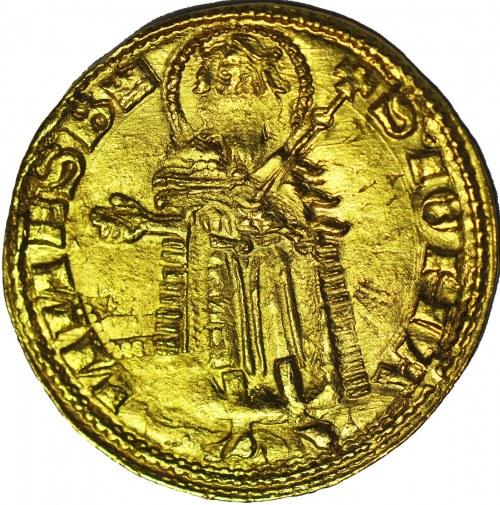 R-, Ludwik Węgierski, Dukat/Goldgulden z lat 1342-1353, menniczy