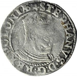 RR,- Stefan Batory, Grosz 1579, Olkusz, POLONIAE/POLO