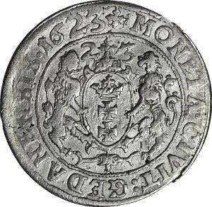 R-, Zygmunt III Waza, Ort 1623 Gdańsk, DODATKOWA PEŁNA DATA 1623 w otoku