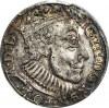 RRR-, Zygmunt III Waza, Trojak 1588, duża głowa, Olkusz, NIENOTOWANY