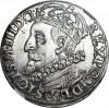 Zygmunt III Waza, Trojak 1600, Kraków, głowa w lewo, menniczy