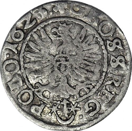 RR-, Zygmunt III Waza Grosz 1623, Kraków, SDG zamiast SIG, obraza majestatu