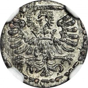 Zygmunt III Waza, Denar 1596, Gdańsk