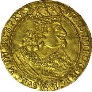 RRR-, Władysław IV Waza, Donatywa wagi 1,5 Dukata (PÓŁTORA DUKATA) 1647 Gdańsk, R5-R6