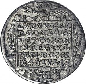 RR,- Władysław IV, Ludwika Maria Gonzaga, medal zaślubinowy