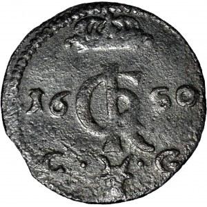 R-, Jan Kazimierz, Szeląg szeroki 1650, Bydgoszcz, BIDG