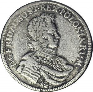 RR-, August II Mocny, 1/3 talara 1698, Lipsk, EPH, ryba przed datą, rzadkie