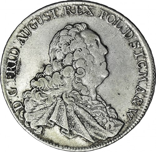 August III Sas, Talar 1763 FWOF, Drezno