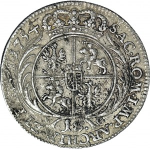 August III Sas, Ort 1754, Lipsk