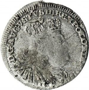 August III Sas, Półtorak 1756, Lipsk, z ORŁEM, R4