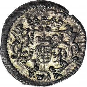 August III Sas, Halerz 1742, ładny