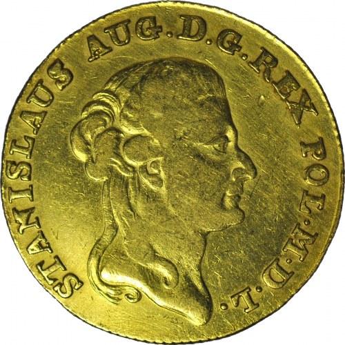 RR-, S.A.Poniatowski, 3 dukaty (stanislaus d'or) 1794, piękne, nakład 621 szt.