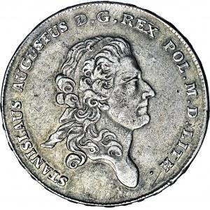 R-, Stanisław A. Poniatowski, Talar 1777, Warszawa, R2