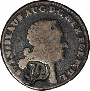 RR-, Stanisław A. Poniatowski, Trojak 1768 G, fałszerstwo pruskie, punca JP?