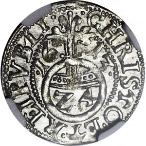 Pomorze, Księstwo Szczecińskie, Filip II, Grosz 1613, Szczecin, Kop. R