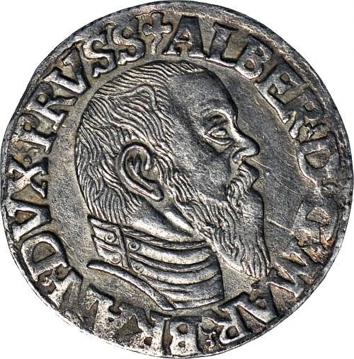 Lenne Prusy Książęce, Albrecht Hohenzollern, Trojak 1544, Królewiec