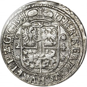 Lenne Prusy Książęce, Jerzy Wilhelm, Ort 1624, Królewiec