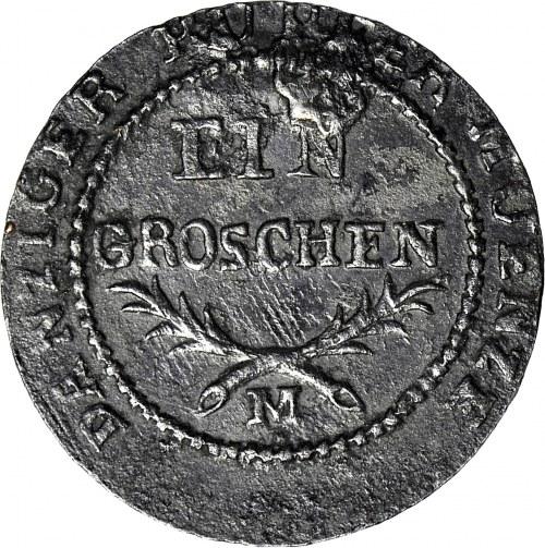 Wolne Miasto Gdańsk 1808-1812, Grosz 1812