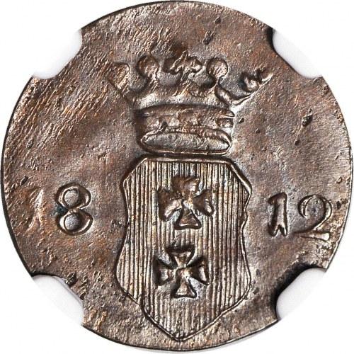 Wolne Miasto Gdańsk 1808-1812, Szeląg 1812