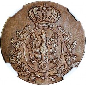 R-, Wielkie Księstwo Poznańskie, Grosz 1816 B