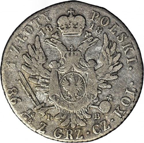 Królestwo Polskie, Aleksander I, 2 złote 1818