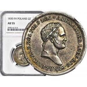 Królestwo Polskie, Aleksander I, 2 złote 1830