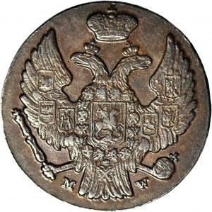Królestwo Polskie, 1 grosz 1836, piękny