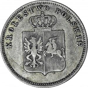 Powstanie Listopadowe, 2 złote 1831, jedynki w dacie bez daszków