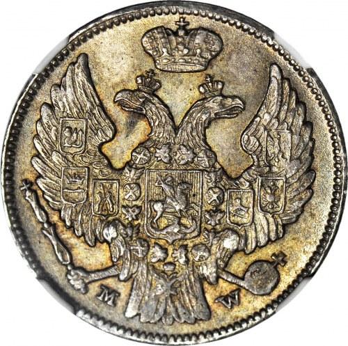 Królestwo Polskie, 1 złoty = 15 kopiejek 1839, mennicze
