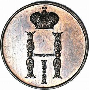 Zabór Rosyjski, Kopiejka 1851 BM, Warszawa, piękna