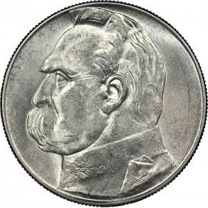 10 złotych 1936, Piłsudski, menniczy
