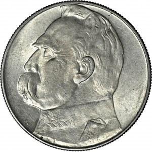 10 złotych 1937, Piłsudski, menniczy