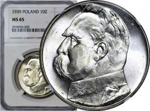 10 złotych 1939, Piłsudski, wyśmienity