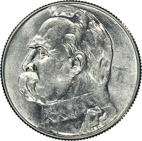 5 złotych 1934, Piłsudski, menniczy