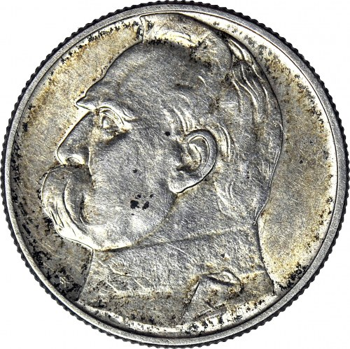 2 złote 1934, Piłsudski, menniczy