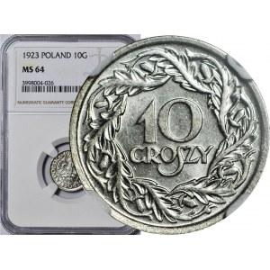 10 groszy 1923, mennicze
