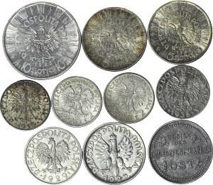 Zestaw 10 monet II RP