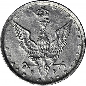 Królestwo Polskie, 10 fenigów 1917 FF