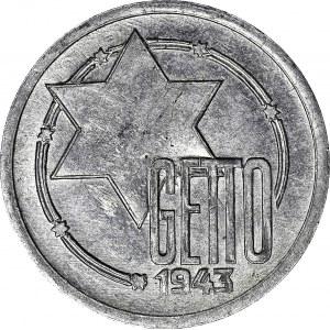 Kolekcja specjalistyczna GETTO, 10 Marek 1943, GDA 7b/3 bardzo wczesna faza bez pęknięć