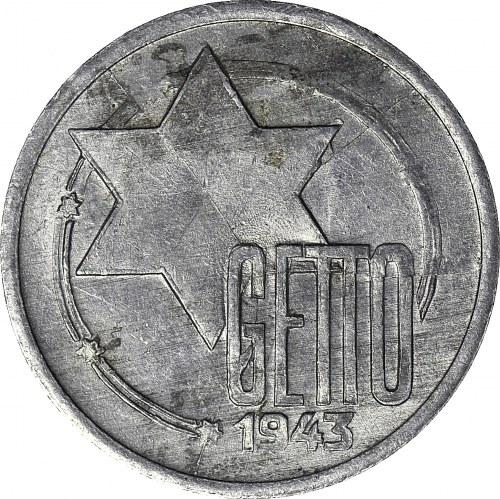 Kolekcja specjalistyczna GETTO, 10 Marek 1943, GDA 4/6 Rzadkość!!