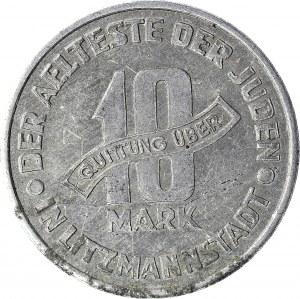 Kolekcja specjalistyczna GETTO, 10 Marek 1943, GDA 1/1 (płytkie/płytkie)