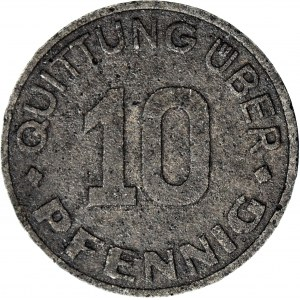 RR- Getto, 10 Fenigów 1942, obiegowe
