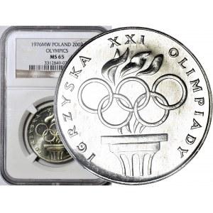 200 złotych 1976, Montreal, Znicz