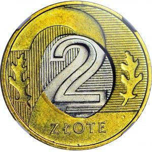 R-, 2 złote 2014 niecentryczny rdzeń, DESTRUKT