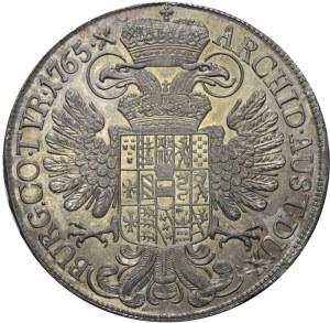 Austria, Talar 1765, Maria Teresa, Hall, menniczy
