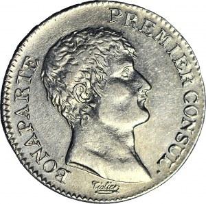 Francja, Napoleon I Premiere Consul, 1 Frank, AN12 D, Lyon