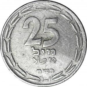 Izrael, 25 milów 1948