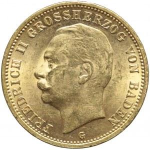 Niemcy, Badenia, 20 marek 1911 G, Fryderyk II