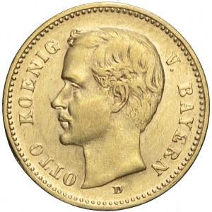 Niemcy, Bawaria, 10 marek, 1901 D, Otto