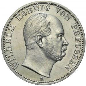 Niemcy, Prusy, Talar 1866 A, Wilhelm I